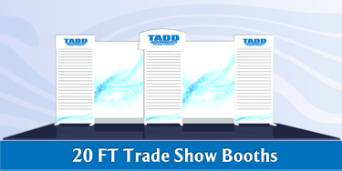 20 ft Trade Show Display Booths