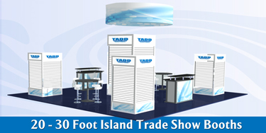 island booths for trade shows